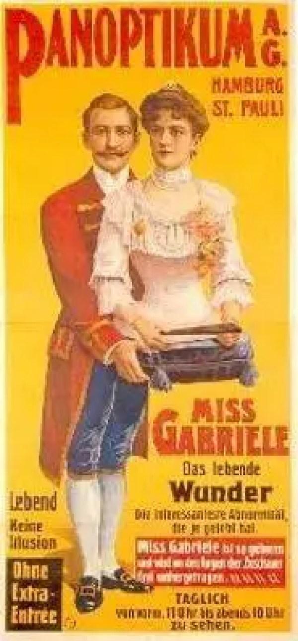Madame Gabrielle era uma garota brilhante e independente