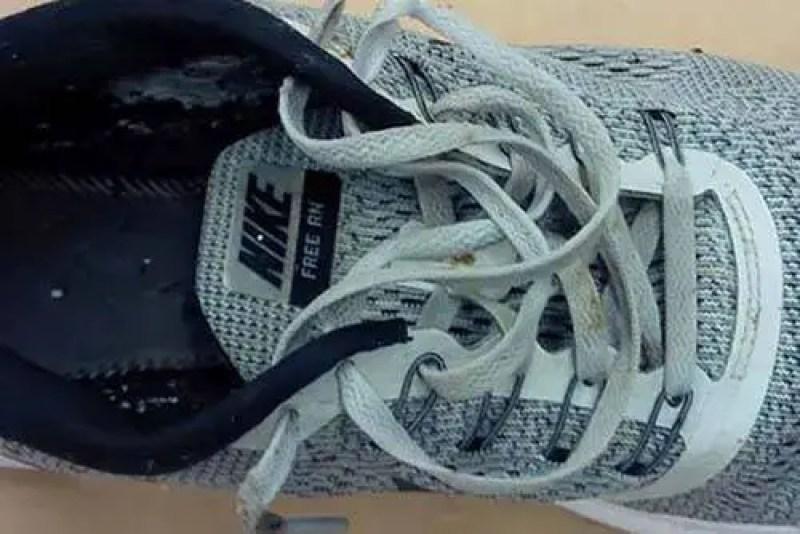 Nike Free RN cinza para homens