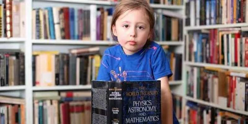 O caso de uma pequena criança de cinco anos telepata