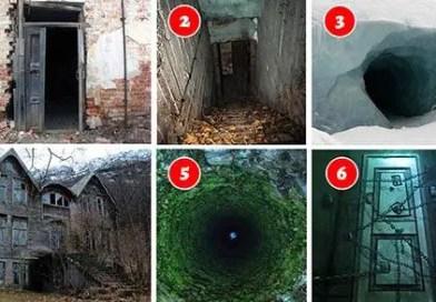 Teste: A porta e o medo! Em qual porta você tem mais medo de entrar?