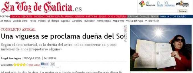 Atualmente, María está vendendo os lotes em seu próprio site, a um euro cada
