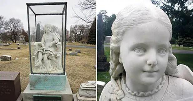 O estranho mistério da estátua fúnebre de Inez Clarke