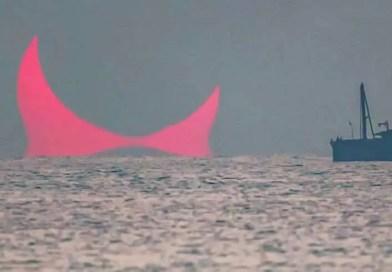 Os 'chifres do diabo' aparecem no Golfo Pérsico, seria um sinal apocalíptico?