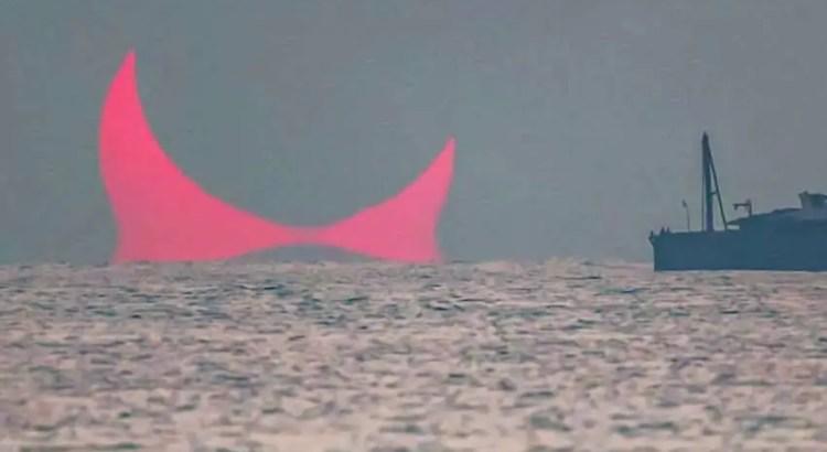 Os 'chifres do diabo' aparecem no golfo Pérsico, sinal apocalíptico