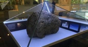 Os restos da rocha espacial de Chelyabinsk