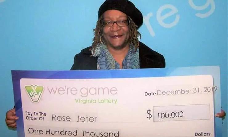Uma americana ganha o grande prêmio da loteria graças aos números que viu em um sonho