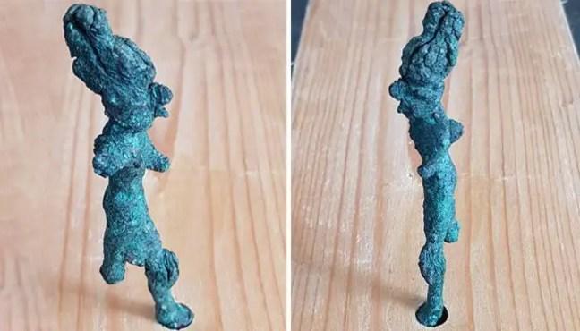 Estatueta do deus Baal, um das principais entidades para os cananeus
