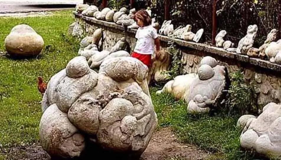 Trovants - pedras que têm a capacidade de crescer e se mover