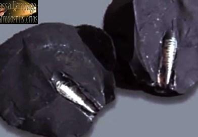 Um artefato impossível encontrado nos restos de um meteorito