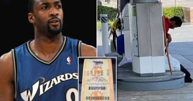 Homem misterioso ajuda ex-jogador da NBA a ganhar na loteria