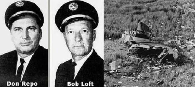 Don Repo e Capitão Bob Loft
