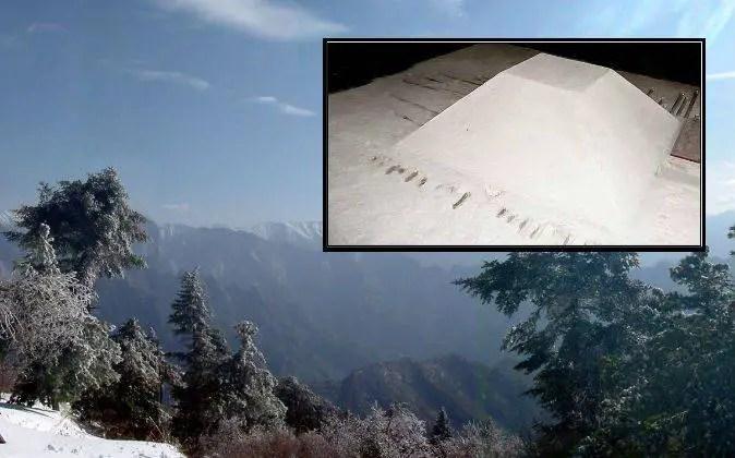 A misteriosa pirâmide branca da China maior que a do Egito