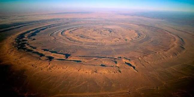 As ruínas da Atlântida podem estar sob o misterioso Olho do Saara
