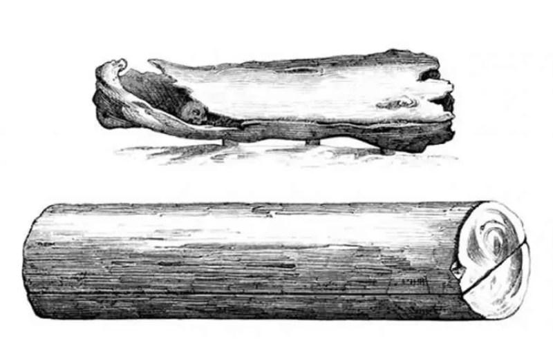 Caixões medievais de madeira - séculos IX-X