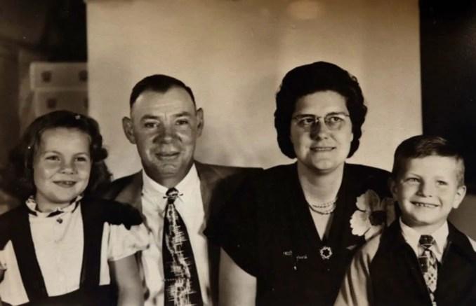 RaeAnn e Milton com os Zoetemans