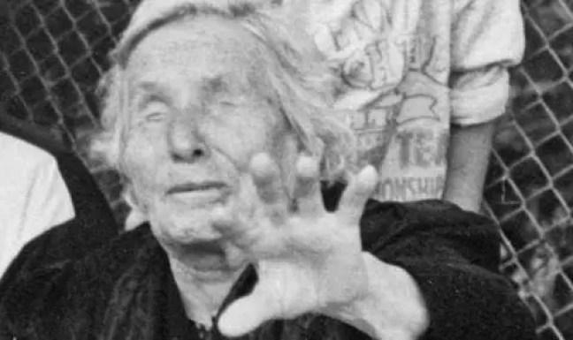 A vidente de Petrič tinha fama de ter essas visões desde a adolescência.