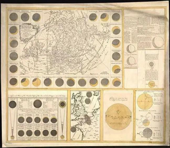Geografia do grande eclipse solar de julho de 1748.