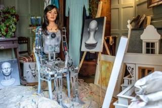 Ai-Da, o primeiro robô artista com IA da Universidade de Oxford
