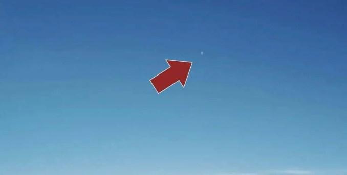 OVNI Tipo 7: 21 de novembro de 2020 14h33, a forma do objeto é uma esfera e a direção da visão é Noroeste.