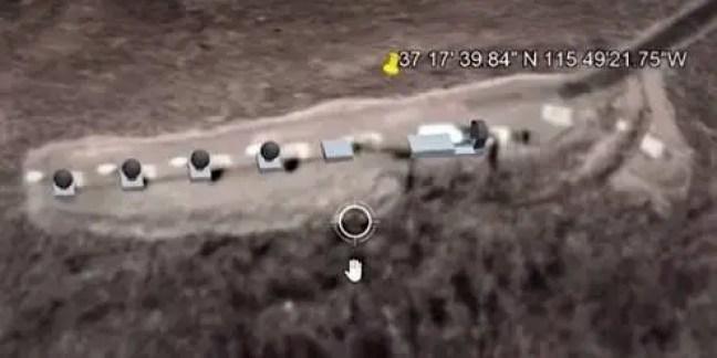 Portal tipo Stargate descoberto perto da Área 51 graças ao Google Maps