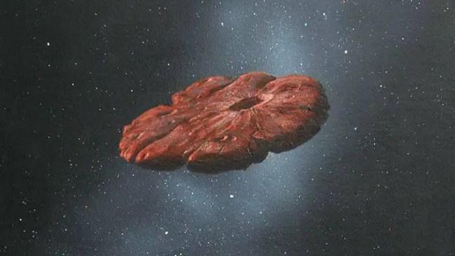 Oumuamua é assim?