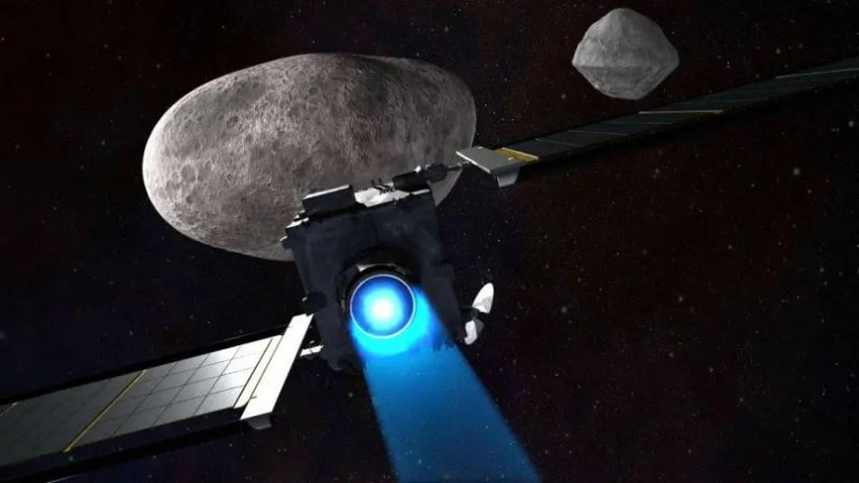 Um asteroide pode destruir satélites