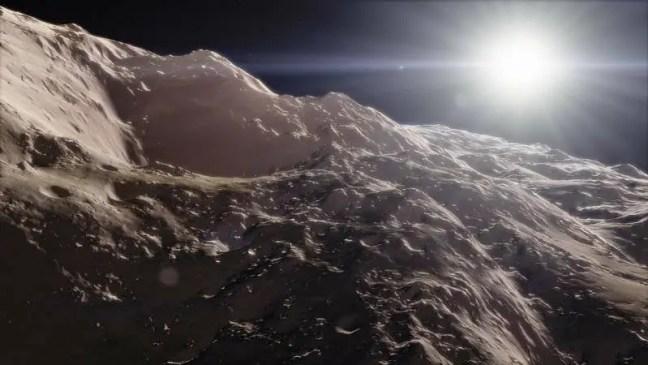 A alienígena disse que eles têm uma base no Cinturão de Asteroides.