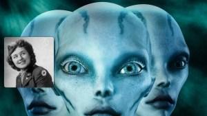 Uma enfermeira disse que ela se comunicou com um alienígena abatido em Roswell