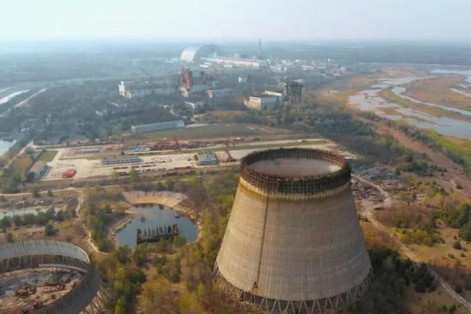 Usina nuclear de Chernobyl.