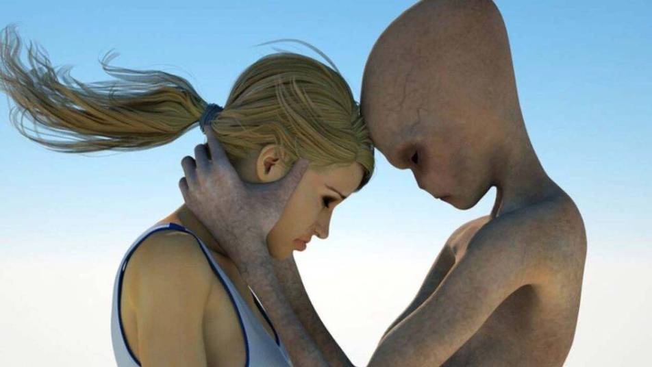 Centenas de britânicos afirmam ter feito sexo com alienígenas.
