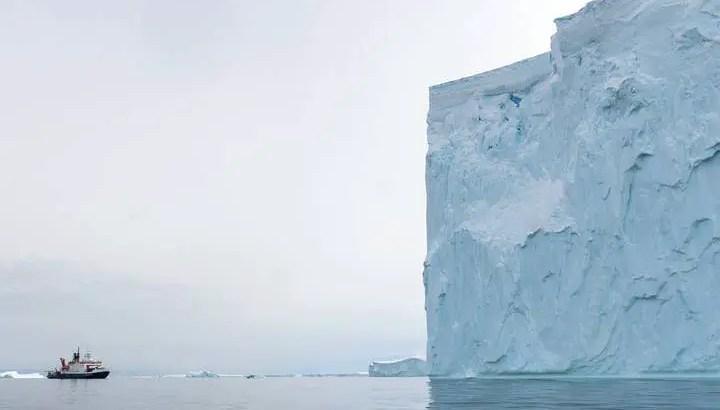 Calor no interior da Terra ajuda a derreter Geleira do Juízo Final na Antártica