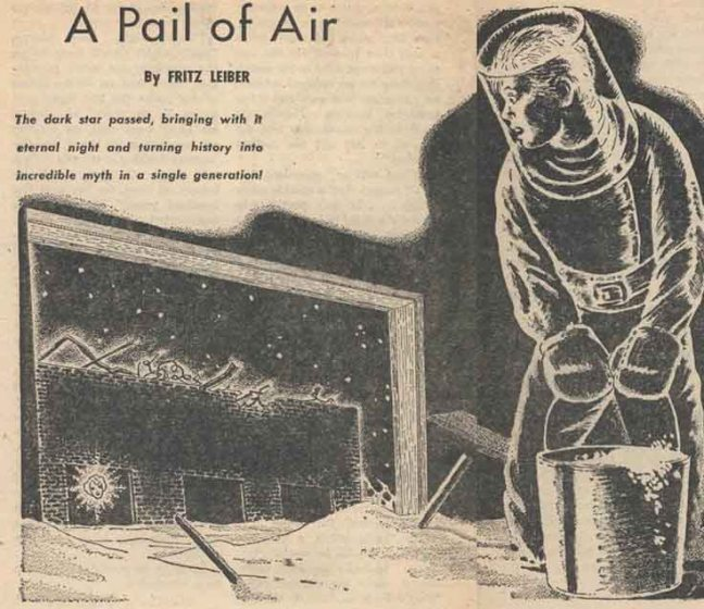 Livro: A Pail of Air (1951)