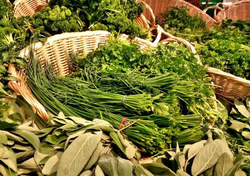 leafy foods