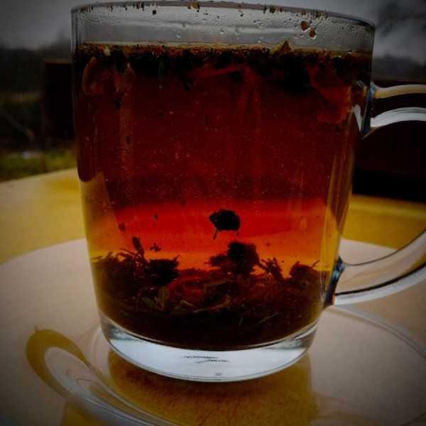 Фруктово-овощной чай для настроения