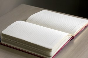 pen and paper therapy: write in a journal