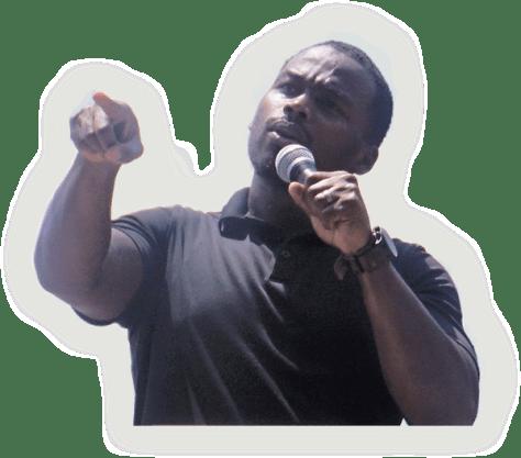 Chaz Jackson and Leadership Motivational Youth Speaker