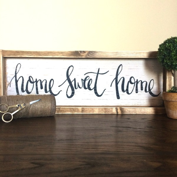 home sweet home sign2