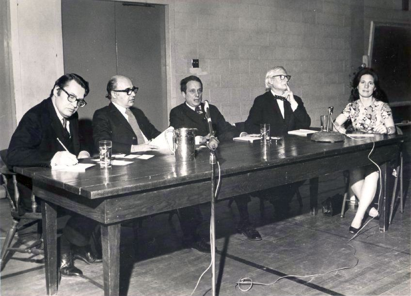 1970 – CHHS programs connect our community to Chestnut Hill's past, present, and future, and (above) involve notables like internationally renowned architects Romaldo Giurgola, Louis Kahn, and Robert Venturi
