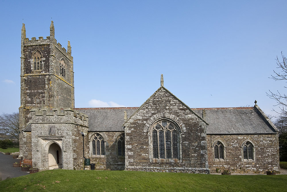 Job: CHCT. St Newlina, St Newlyn East Church.Caption: South front of Church.