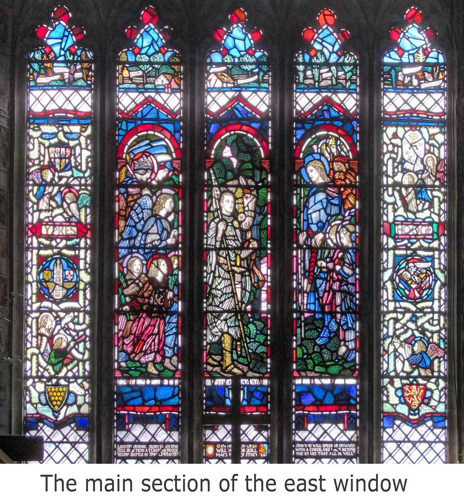 East window a