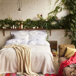 Inspired by nature bedroom style