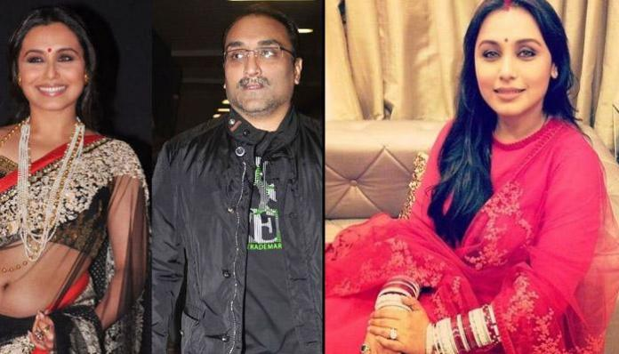 Aditya Chopra and Rani mukherjee