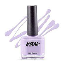 Lilac nail colour