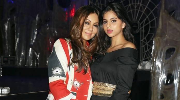 gauri and suhana khan