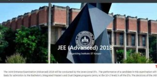 JEE Advanced 2018