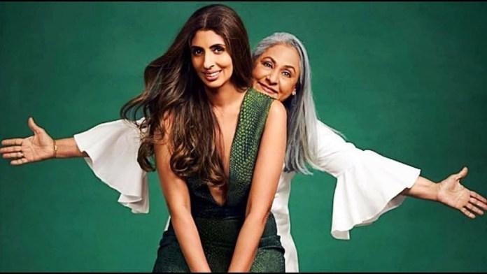 shweta and jaya bachchan