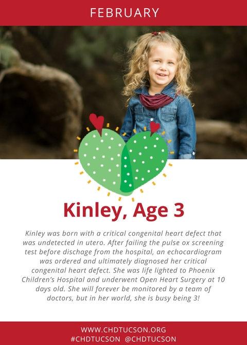 Heart Kid of the Month-February