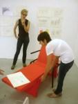 %enseignement Design Marseille Philippe Delahautemaison Agnès Martel Esadmm Mélanie Dosseto - assise