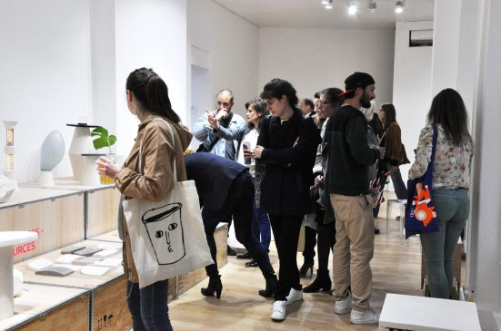 %enseignement Design Marseille Philippe Delahautemaison Agnès Martel Esadmm Vernissage D'DAYS 2017 - Galerie Joseph, Paris