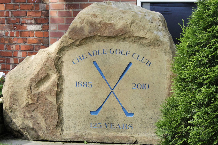 cheadle golf club stone